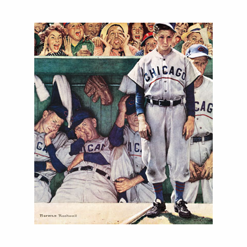 Norman Rockwell The Dugout 500pc Puzzle