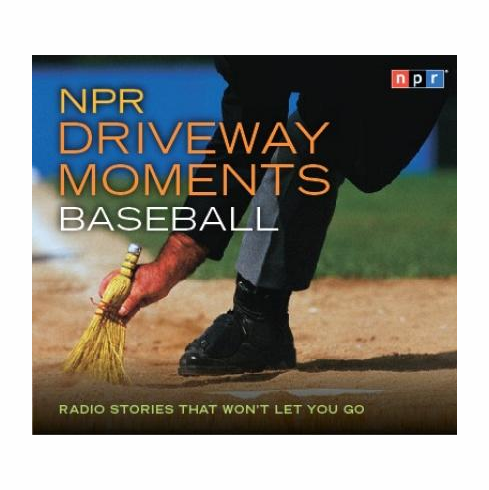 NPR Driveway Moments Baseball CD<br>ONLY 1 LEFT!