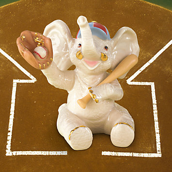 Opening Day Baseball Elephant by Lenox
