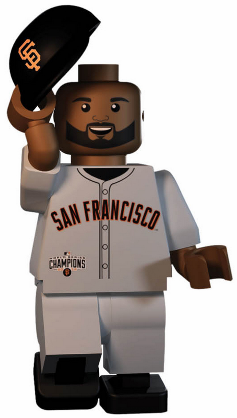 Pablo Sandoval San Francisco Giants 2014 World Series Champions OYO Mini Figure<br>ONLY 3 LEFT!