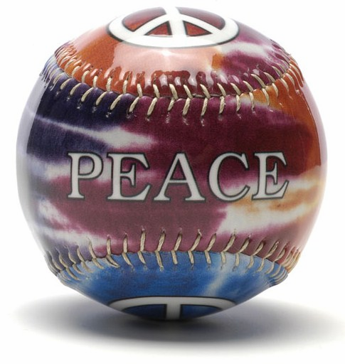 Peace Gloss Baseball