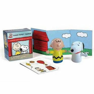 Peanuts Baseball Finger Puppet Theater<br>ONLY 3 LEFT!