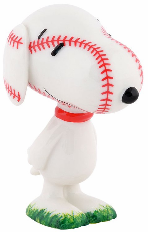 "Peanuts Grand Slam 3"" Baseball Snoopy"