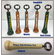 Personalized Baseball Bat Handle Bottle Openers