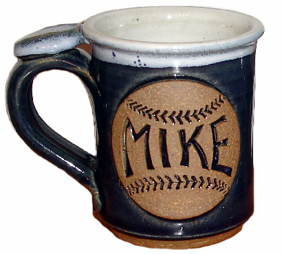Personalized Baseball Coffee Mugs