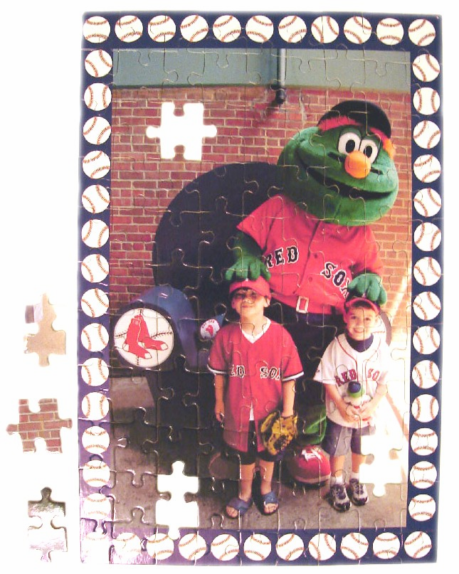 Personalized Baseball Puzzles