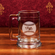 Personalized Etched Baseball 15oz Colonial Glass Tankard