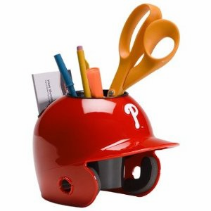 Philadelphia Phillies Baseball Helmet Desk Caddy<br>ONLY 4 LEFT!