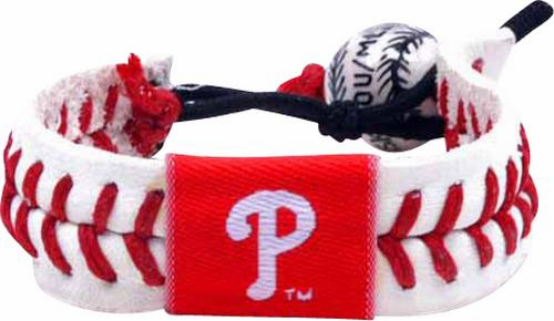 Philadelphia Phillies<br>Baseball Seam Bracelet