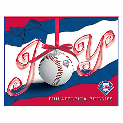 Philadelphia Phillies Boxed Christmas Cards