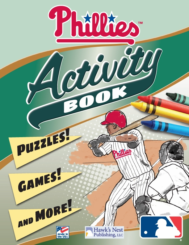 Philadelphia Phillies MLB Activity Book
