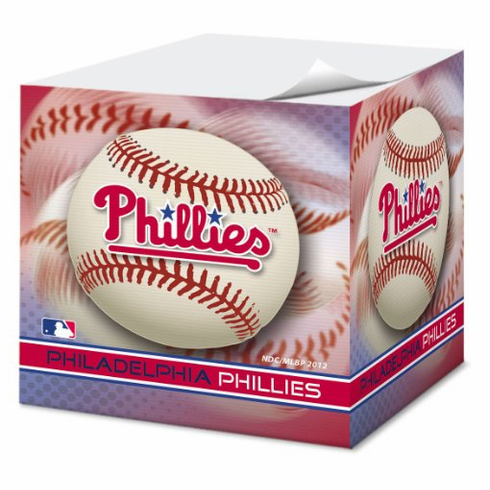 Philadelphia Phillies Sticky Note Cube<br>ONLY 1 LEFT!