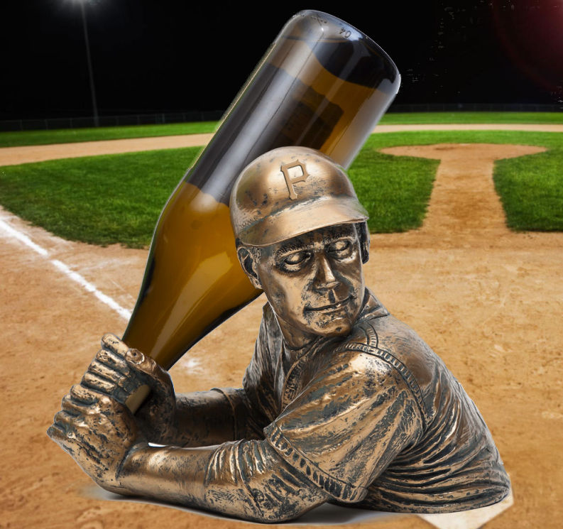 Pittsburgh Pirates Bam Vino Baseball Batter Wine Bottle Holder<br>ONLY 3 LEFT!