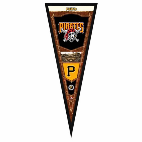 Pittsburgh Pirates Framed Pennant Sign