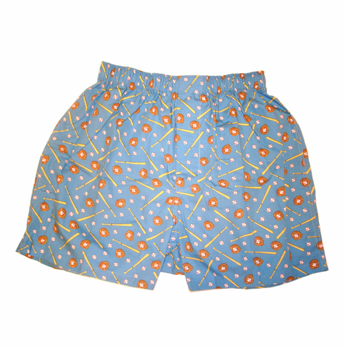 Play Ball Baseball Adult Boxer Shorts<br>ONLY 3 LEFT!
