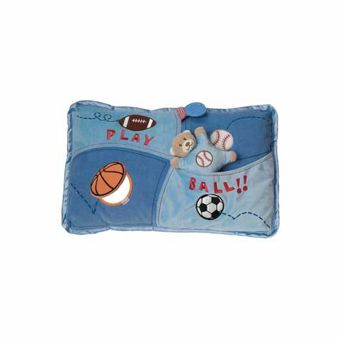 Play Ball Fluff and Play Sports Pillow<br>ONLY 4 LEFT!