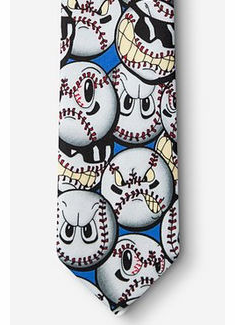 Play Hard Youth Baseball Tie