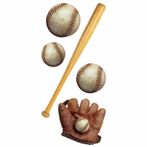 Playing Baseball Stickers<br>ONLY 2 LEFT!