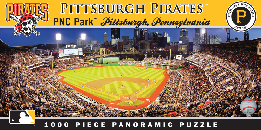 PNC Park Pittsburgh Pirates 1000pc Panoramic Puzzle<br>LESS THAN 8 LEFT!