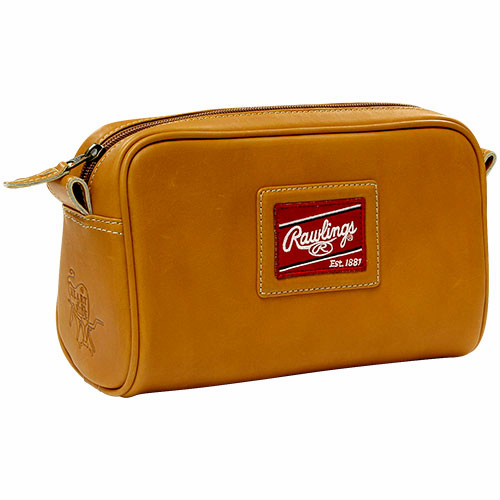 Rawlings Leather Travel Kit - Premium Tan