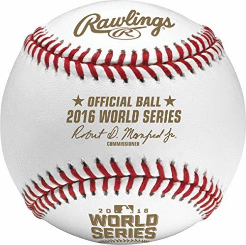 Rawlings 2016 Official MLB World Series Game Baseball<br>LESS THAN 12 LEFT!