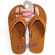 Rawlings Tan Leather Baseball Stitch Flip Flops<br>IN-STOCK NOW!