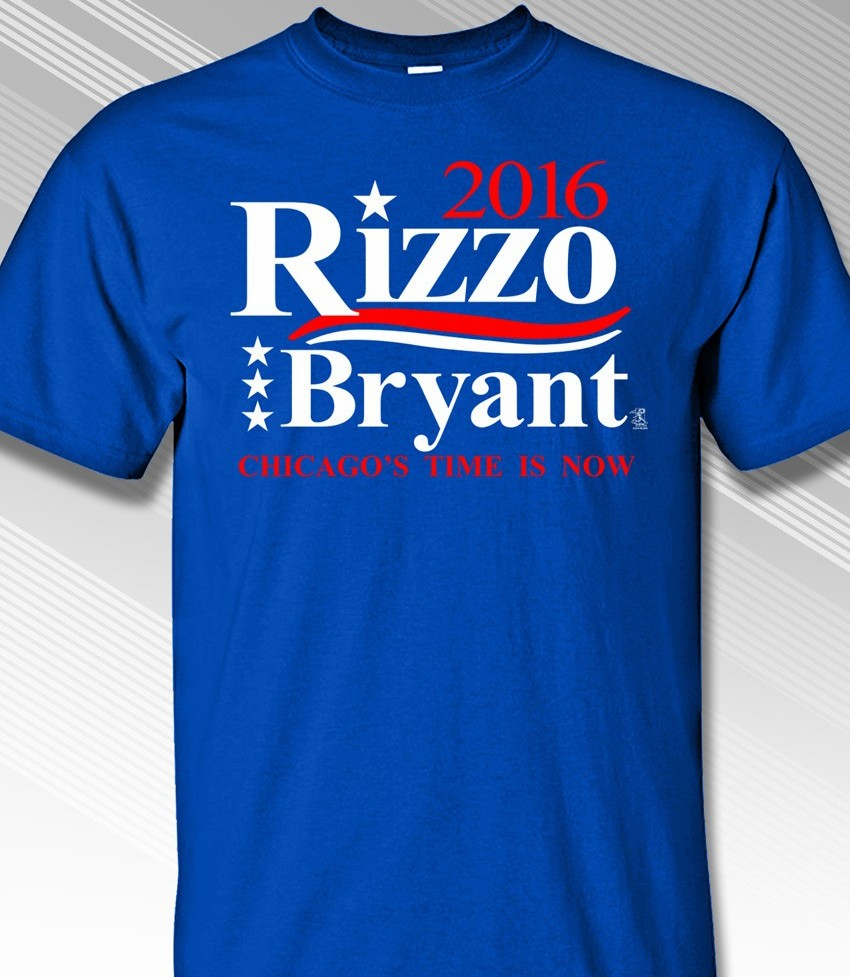 Rizzo and Bryant 2016 T-Shirt<br>Short or Long Sleeve<br>Youth Med to Adult 4X