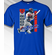 Rougned Odor Texas Colorblock T-Shirt<br>Short or Long Sleeve<br>Youth Med to Adult 4X