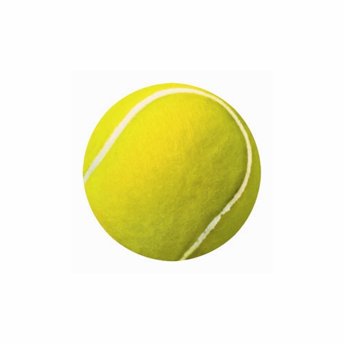 Round Tennis Ball Car Magnet