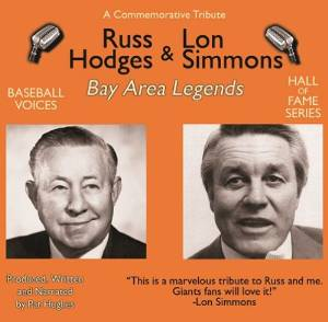 Russ Hodges and Lon Simmons: Bay Area Legends CD<br>ONLY 1 LEFT!
