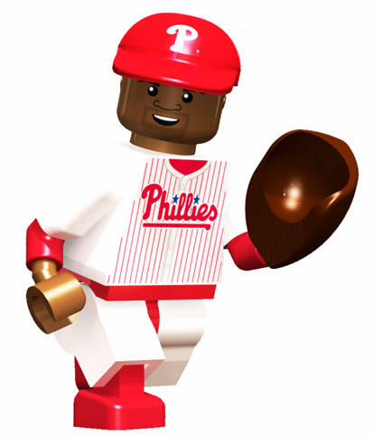 Ryan Howard Philadelphia Phillies OYO Mini Figure