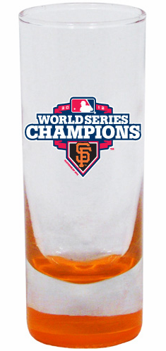San Francisco Giants 2012 World Series Champions 2oz Highlight Cordial Glass