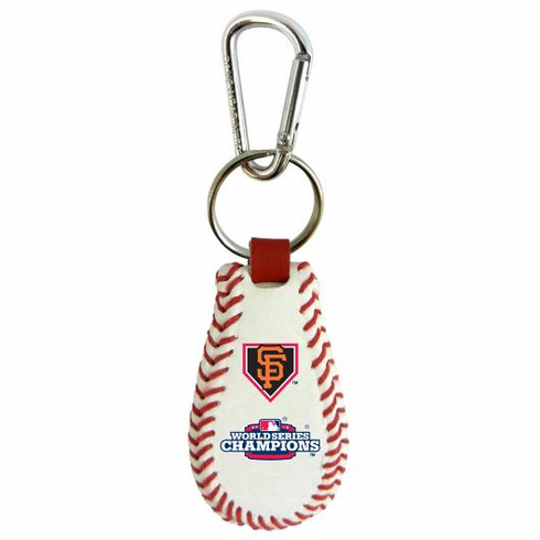 San Francisco Giants 2012 World Series Champions Baseball Seam Keychain