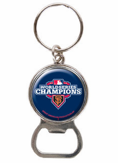 San Francisco Giants 2012 World Series Champions Bottle Opener Key Chain