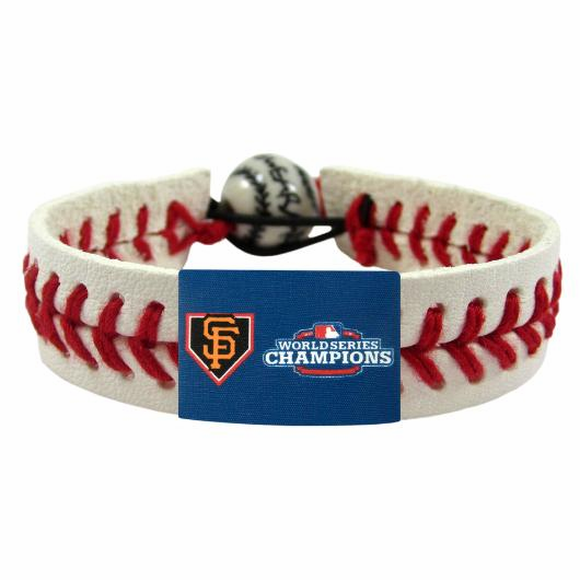 San Francisco Giants 2012 World Series Champions Classic Baseball Bracelet