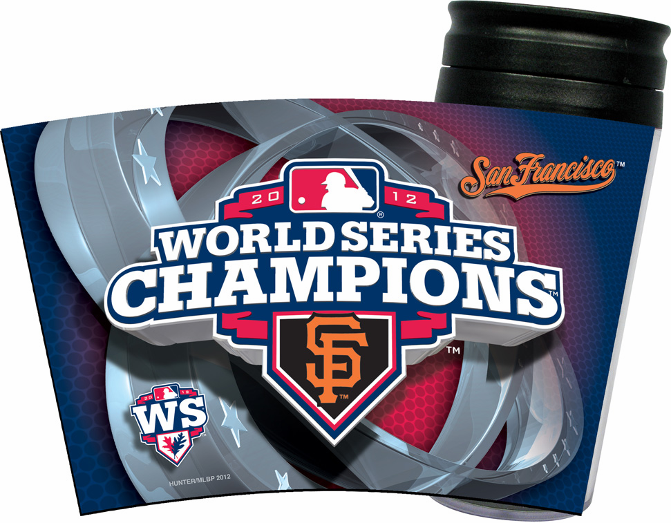 San Francisco Giants 2012 World Series Champions Insulated Travel Mug<br>ONLY 4 LEFT!