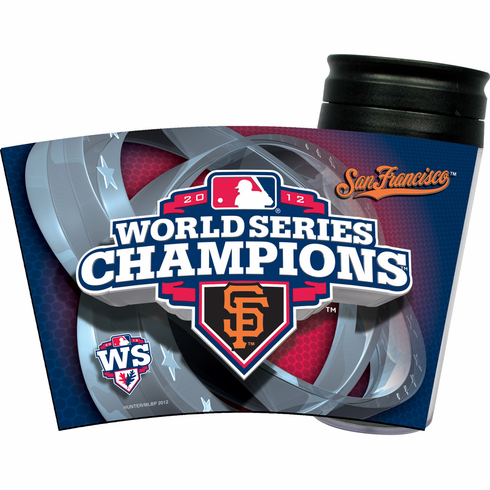 $3 $5 $7 SALE!<br>San Francisco Giants 2012 World Series Champions Insulated Travel Mug<br>ONLY 3 LEFT!