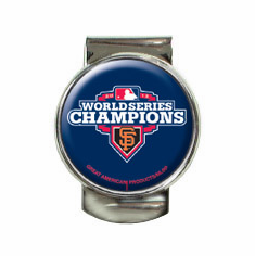 San Francisco Giants 2012 World Series Champions Money Clip