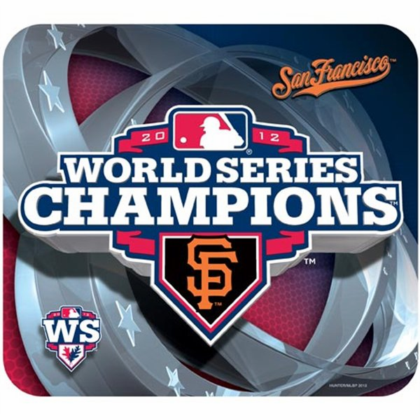 San Francisco Giants 2012 World Series Champions Mousepad