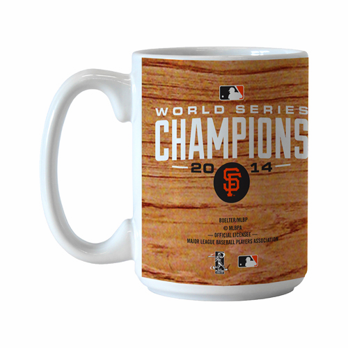 San Francisco Giants 2014 World Series Champions 15oz Roster Coffee Mug<br>ONLY 1 LEFT!