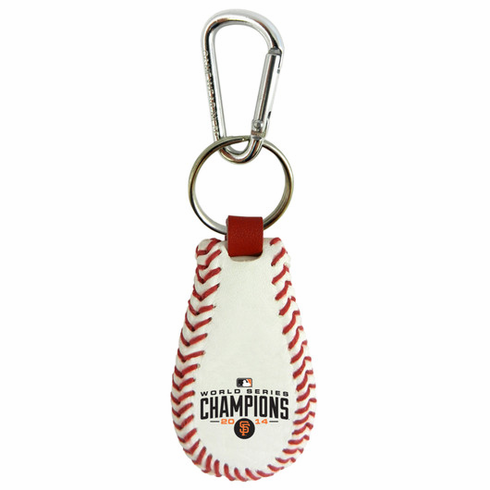 San Francisco Giants 2014 World Series Champions Baseball Seam Keychain<br>ONLY 2 LEFT!