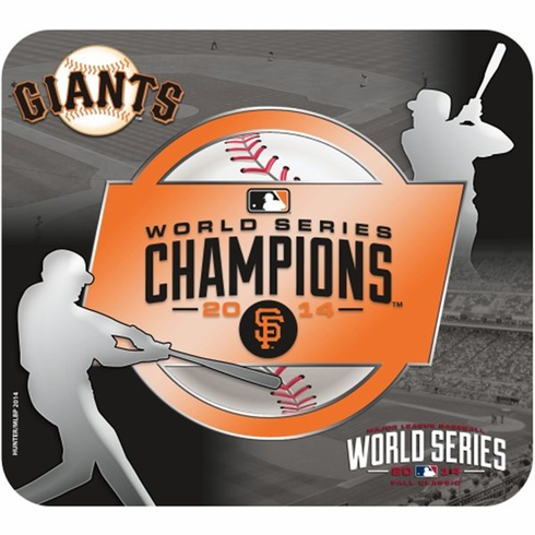 San Francisco Giants 2014 World Series Champions Mousepad