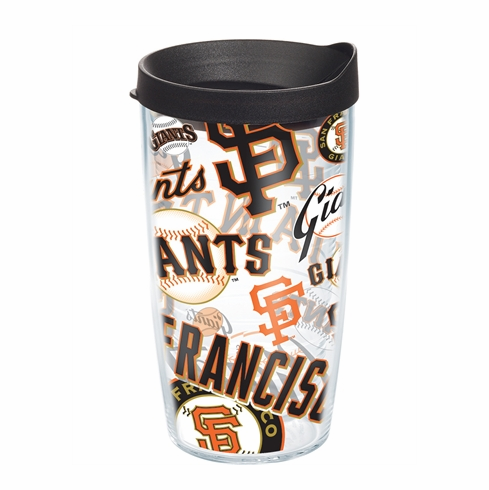 San Francisco Giants All Over Wrap Set of Cups with Lids by Tervis