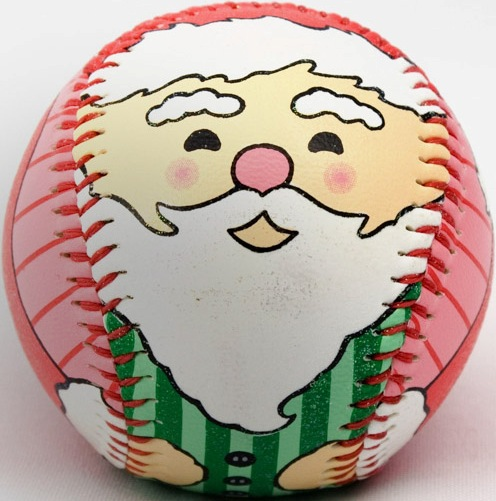 Santa Claus Holiday Baseball