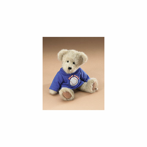 Scruffy - Play Ball Baseball Bear by Boyds