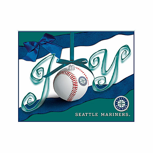 Seattle Mariners Boxed Christmas Cards