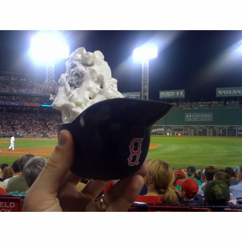 Boston Red Sox 8oz Ice Cream Sundae Baseball Helmet Snack Bowls