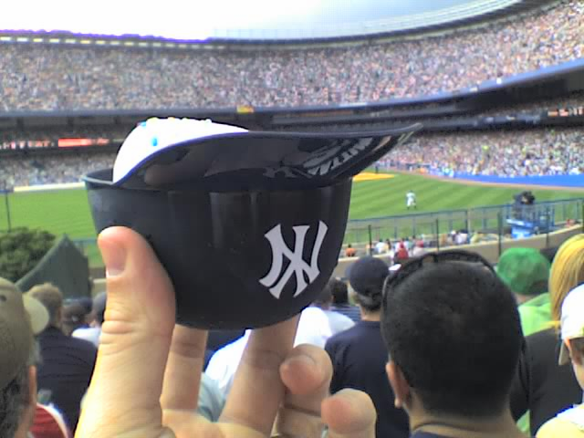 New York Yankees 8oz Ice Cream Sundae Baseball Helmet Snack Bowls