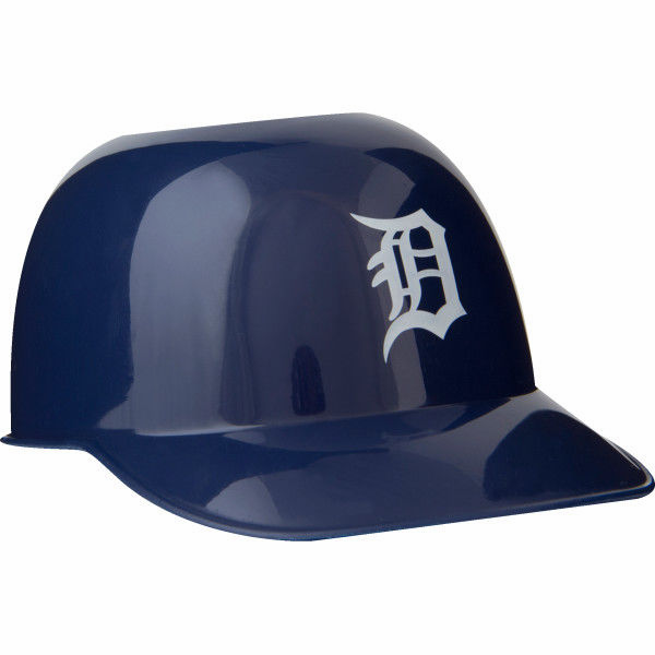 Set of 48 Detroit Tigers 8oz Ice Cream Sundae Baseball Helmet Snack Bowls