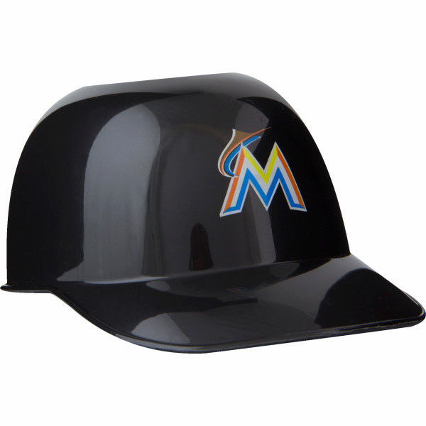Set of 48 Miami Marlins 8oz Ice Cream Sundae Baseball Helmet Snack Bowls